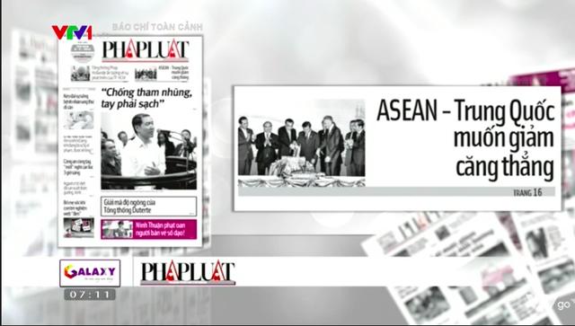 Hội nghị cấp cao ASEAN - Điểm nóng báo chí tuần qua - Ảnh 3.