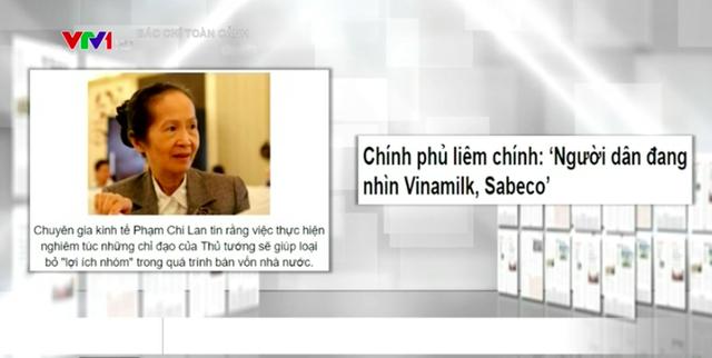 Sabeco, Vinamilk và chủ trương thoái vốn nhà nước hâm nóng báo chí - Ảnh 2.
