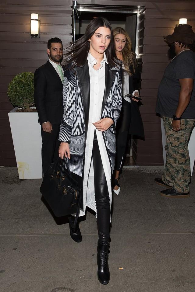 Săm soi phong cách thời trang Thu - Đông của Kendall Jenner - Ảnh 8.