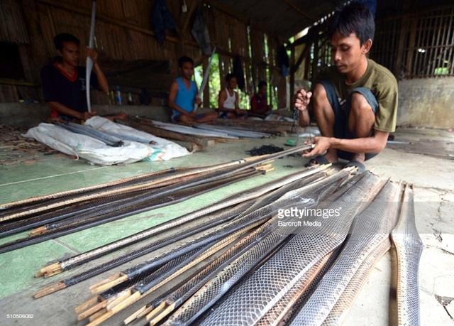 Góc khuất kinh hoàng của ngành công nghiệp thời trang da rắn tại Indonesia - Ảnh 2.