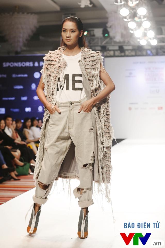 Ngọc Châu mở màn Tuần lễ thời trang quốc tế Việt Nam Thu - Đông 2016 - Ảnh 6.