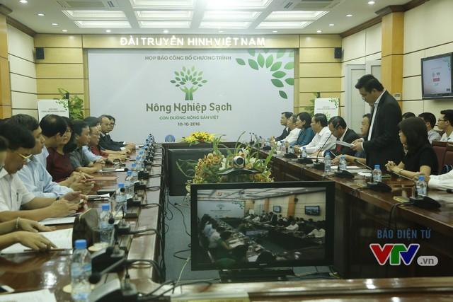 Nông nghiệp sạch - Con đường nông sản Việt lên sóng VTV1 từ ngày 1/11 - Ảnh 1.