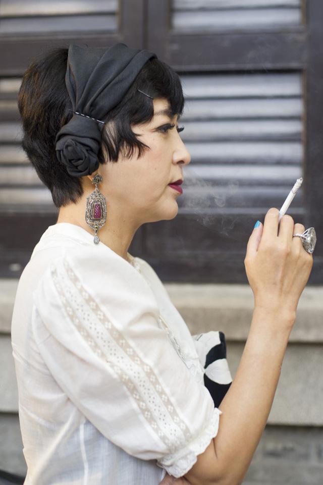 Những tín đồ thời trang Trung Quốc chơi trội bằng phụ kiện độc - Ảnh 15.
