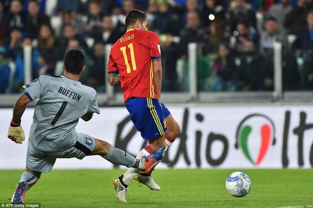 Vòng loại World Cup 2018: Italia 1-1 Tây Ban Nha: 2 bàn thắng từ 2 sai lầm - Ảnh 2.
