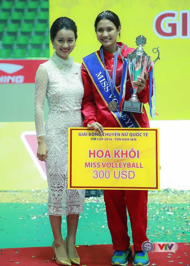 Ảnh: Chiêm ngưỡng vẻ đẹp trên sân đấu của Hoa khôi VTV Cup 2016 – Tôn Hoa Sen - Ảnh 9.