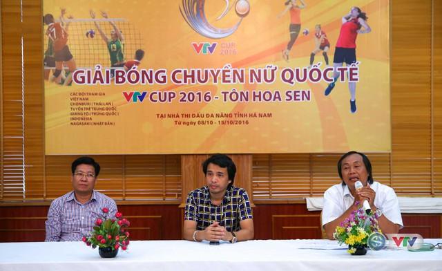 BTC họp kỹ thuật chuẩn bị chuyên môn VTV Cup 2016 Tôn Hoa Sen - Ảnh 1.