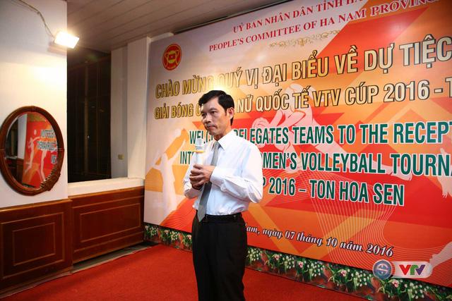 VTV Cup 2016 Tôn Hoa Sen: BTC địa phương tổ chức giao lưu với các đội tham dự giải  - Ảnh 1.