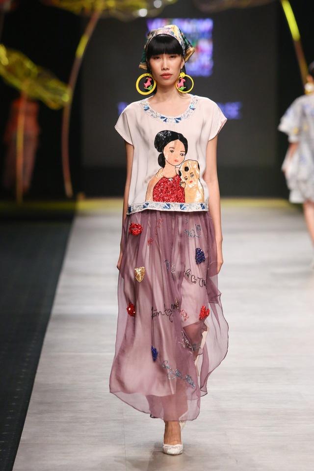 Tuần lễ thời trang quốc tế Việt Nam: Thổi hồn dân tộc vào thời trang cao cấp - Ảnh 8.