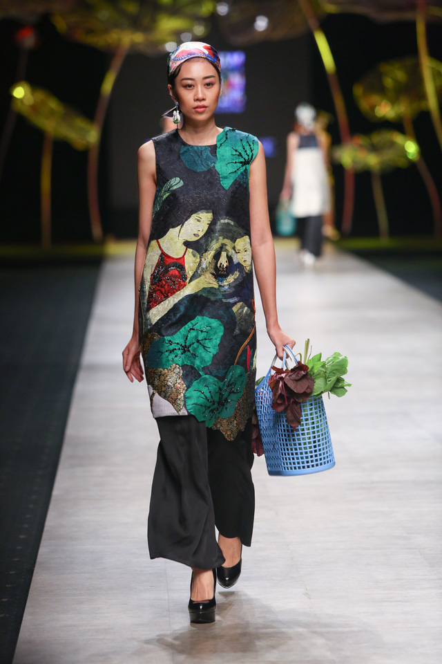 Tuần lễ thời trang quốc tế Việt Nam: Thổi hồn dân tộc vào thời trang cao cấp - Ảnh 9.