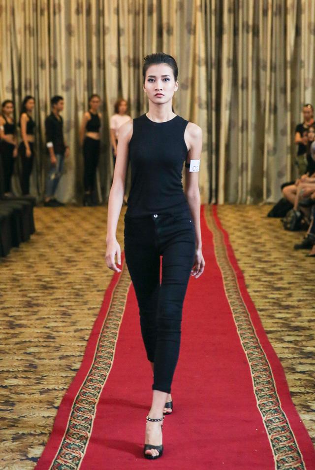 Top 18 VNTM nô nức casting người mẫu Tuần lễ thời trang quốc tế Việt Nam - Ảnh 3.