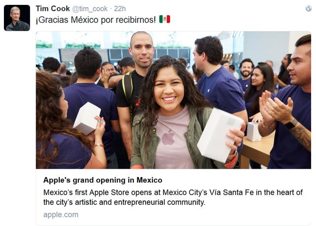 Khai trương cửa hàng Apple Store đầu tiên tại Mexico - Ảnh 1.
