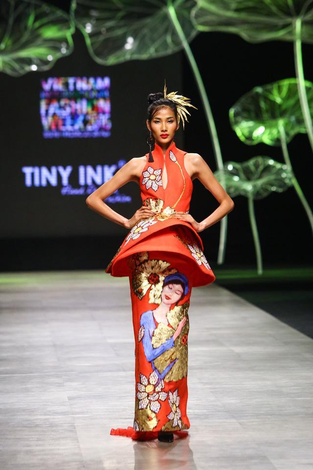 Tuần lễ thời trang quốc tế Việt Nam: Thổi hồn dân tộc vào thời trang cao cấp - Ảnh 6.