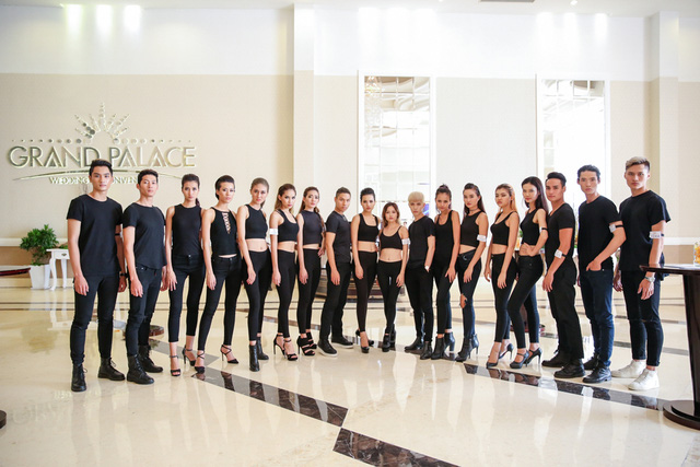 Top 18 VNTM nô nức casting người mẫu Tuần lễ thời trang quốc tế Việt Nam - Ảnh 2.