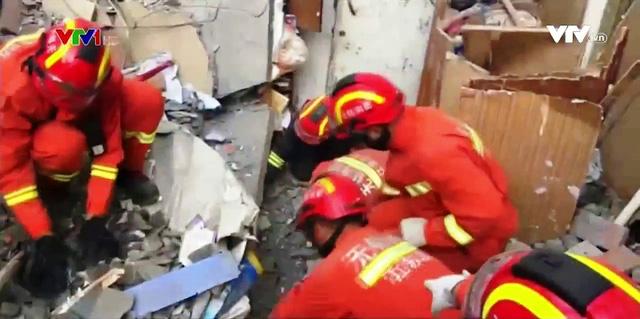 Nổ gas tại khu chung cư ở Trung Quốc, ít nhất 10 người thương vong - Ảnh 1.