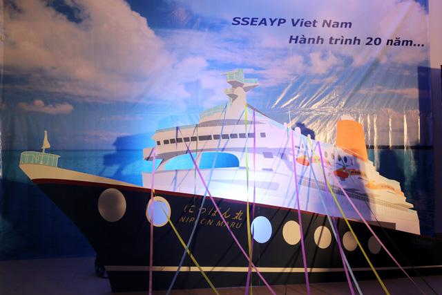 Tàu Thanh niên Đông Nam Á - Nhật Bản (SSEAYP) 2016 chuẩn bị nhổ neo - Ảnh 3.