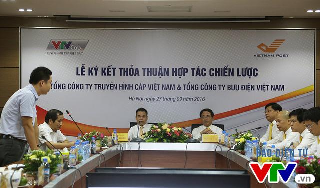 VTVcab - VNPost ký kết thỏa thuận hợp tác chiến lược - Ảnh 1.