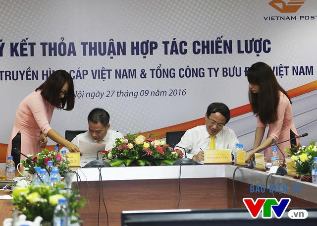 VTVcab - VNPost ký kết thỏa thuận hợp tác chiến lược - Ảnh 2.