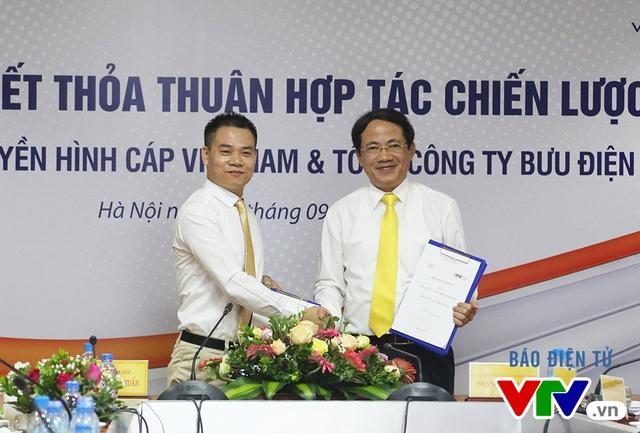 VTVcab - VNPost ký kết thỏa thuận hợp tác chiến lược - Ảnh 3.