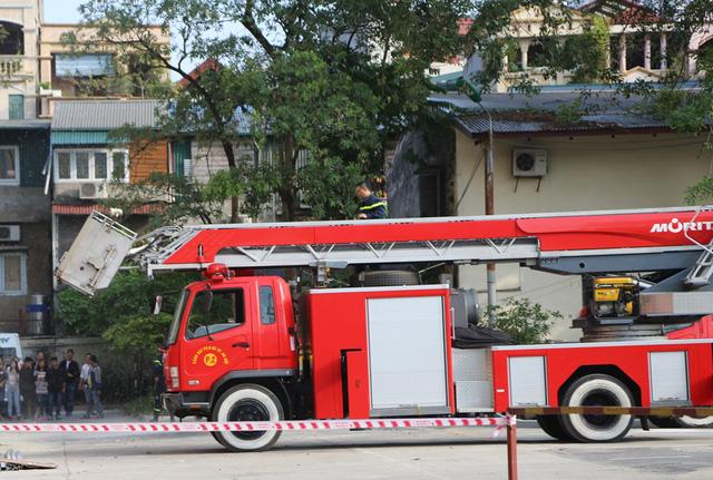 Đài Truyền hình Việt Nam diễn tập phòng cháy chữa cháy - Ảnh 1.