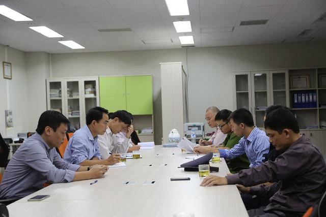 Đài Truyền hình Việt Nam diễn tập phòng cháy chữa cháy - Ảnh 9.