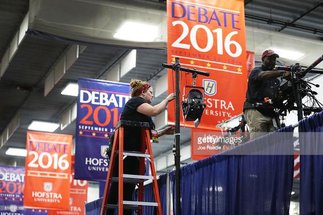 Hai ứng viên Tổng thống Mỹ chuẩn bị tranh luận trực tiếp - Ảnh 5.