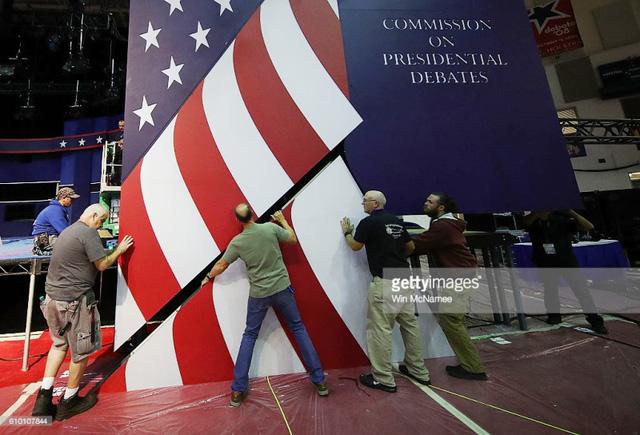 Hai ứng viên Tổng thống Mỹ chuẩn bị tranh luận trực tiếp - Ảnh 7.