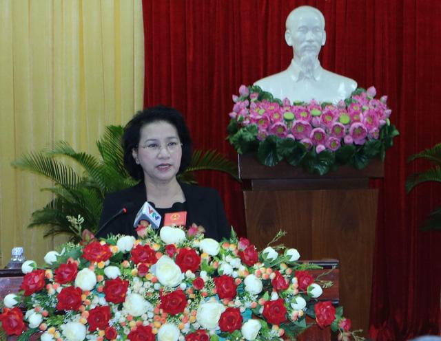 Chủ tịch Quốc hội tiếp xúc cử tri thành phố Cần Thơ - Ảnh 3.