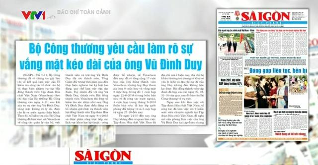 Bổ nhiệm ông Vũ Đình Duy: Bộ Công Thương trực tiếp quyết định nên tập đoàn buộc phải tiếp nhận - Ảnh 1.