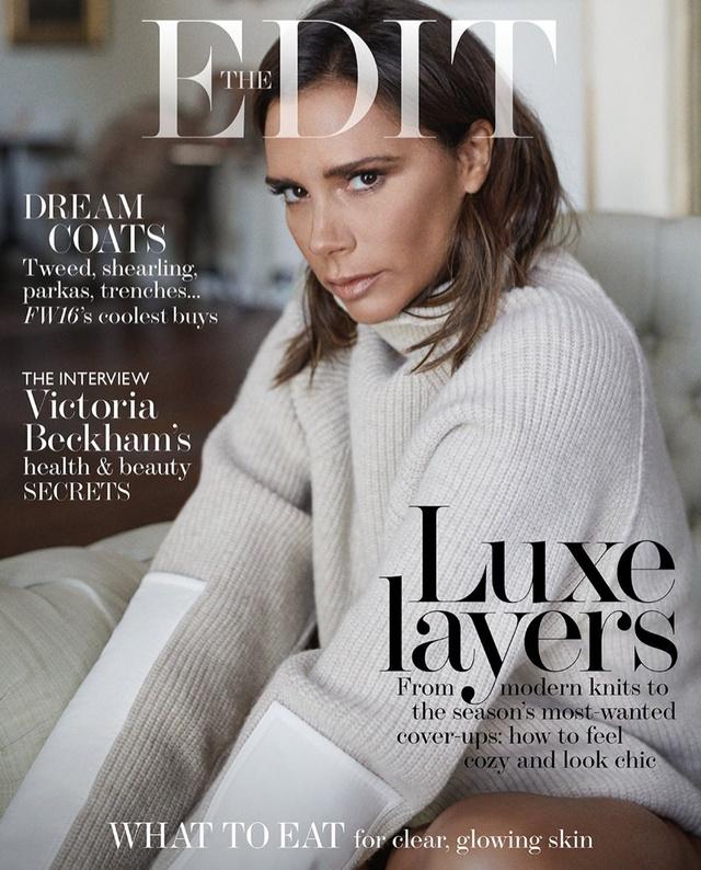Victoria Beckham và những hình ảnh ấn tượng trên The Edit - Ảnh 6.