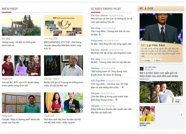 VTV News chính thức thử nghiệm phiên bản mới - Ảnh 1.