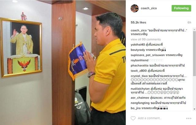 Thái Lan dừng mọi hoạt động bóng đá để tưởng nhớ Quốc vương Bhumibol Adulyadej - Ảnh 3.