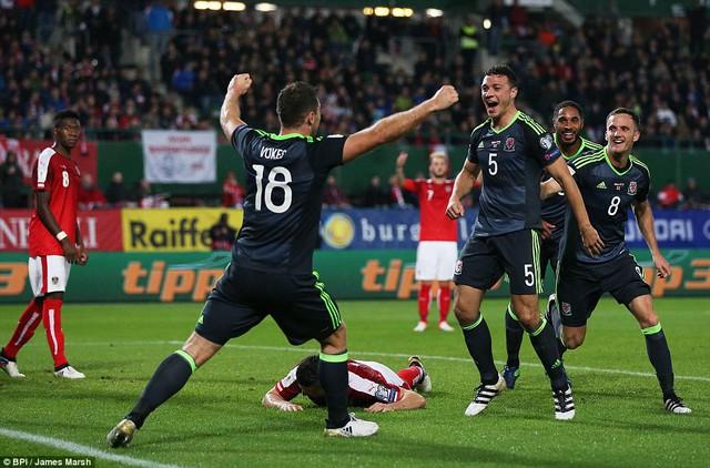 Vòng loại World Cup 2018: Áo 2 - 2 Xứ Wales: Arnautovic giúp Áo giành lại một điểm - Ảnh 4.