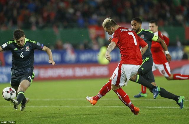 Vòng loại World Cup 2018: Áo 2 - 2 Xứ Wales: Arnautovic giúp Áo giành lại một điểm - Ảnh 5.