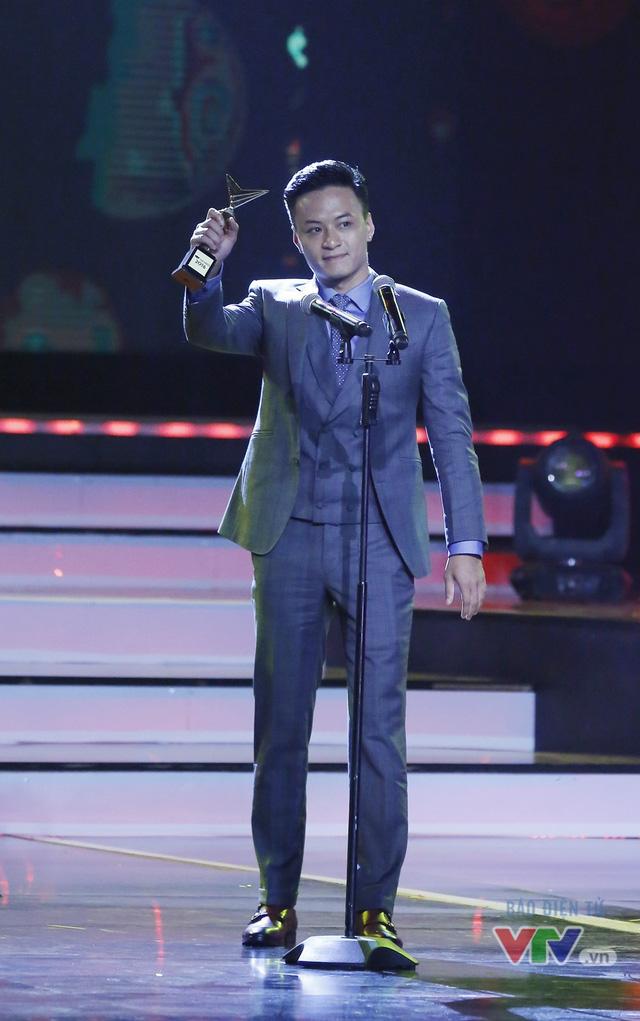 """Hồng Đăng tiết lộ về """"lần đầu"""" trong đời tại VTV Awards 2016 - Ảnh 1."""