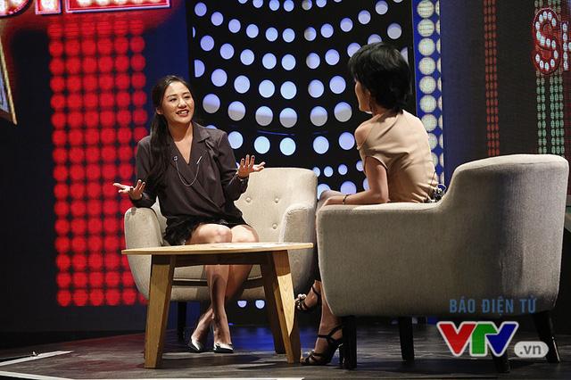 Văn Mai Hương nhí nhố selfie, đọ dáng với MC VTV - Ảnh 5.