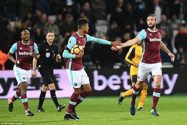 Vòng 14 Ngoại hạng Anh: West Ham 1-5 Arsenal: Cuộc dạo chơi của Pháo thủ - Ảnh 3.