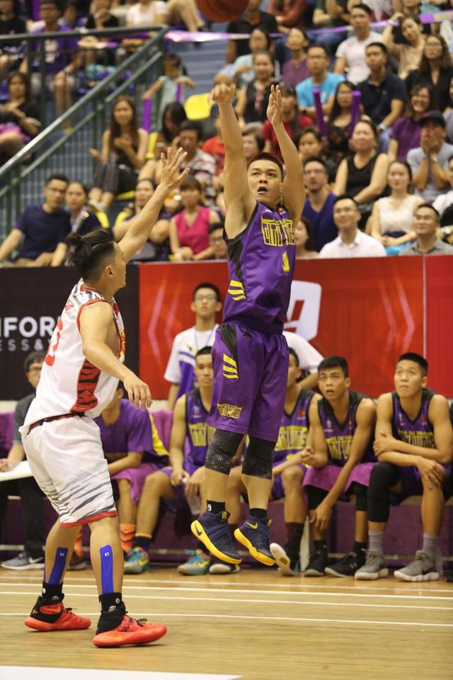 VBA 2017: Saigon Heat vượt trội đội chủ nhà - Ảnh 3.
