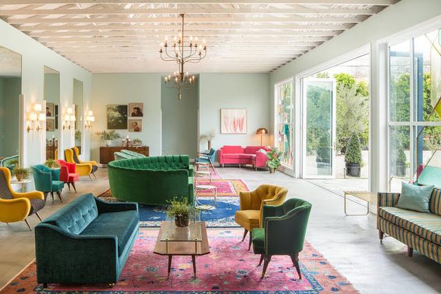 Tạo điểm nhấn nổi bật cho không gian trong nhà bằng màu xanh lá dịu mát - ảnh 15