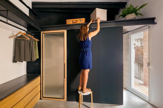 Ngôi nhà 45 m2 ấm áp với sắc màu của gỗ và cây cỏ - Ảnh 7.