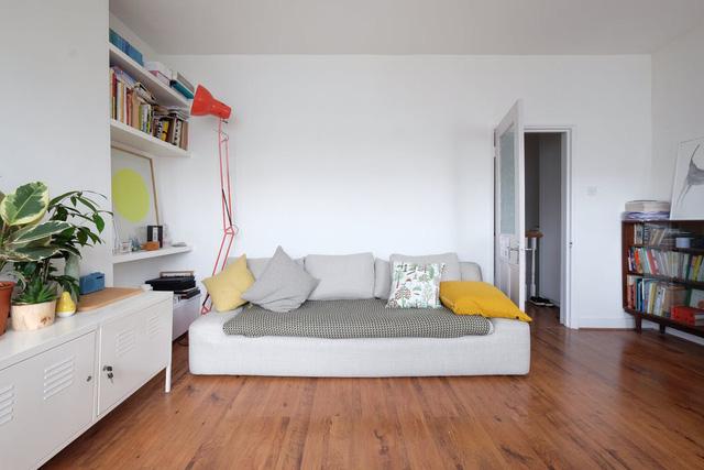 Không gian xinh xắn và tiện ích trong căn hộ 65m2 - Ảnh 1.