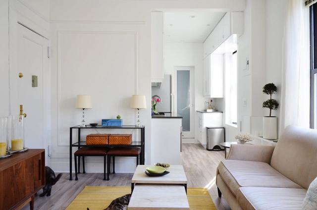 Căn hộ hơn 30 m2 có không gian đánh lừa thị giác - Ảnh 1.