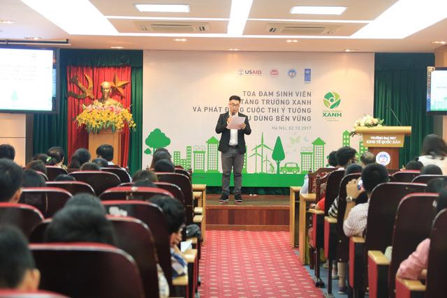 """Sinh viên cả nước tham gia đóng góp ý tưởng """"Phát triển bền vững"""" - Ảnh 1."""