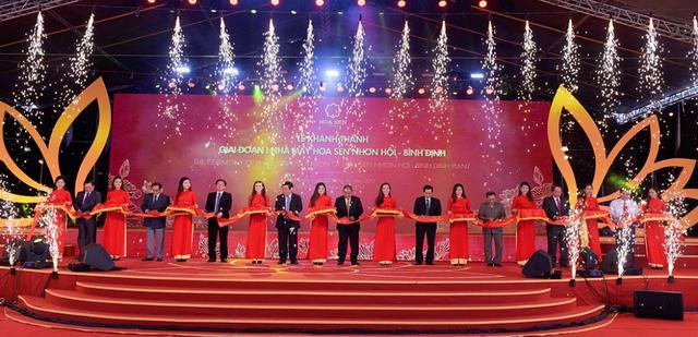 Tập đoàn Hoa Sen khánh thành GĐ 1 nhà máy hơn 2.000 tỷ đồng - Ảnh 1.