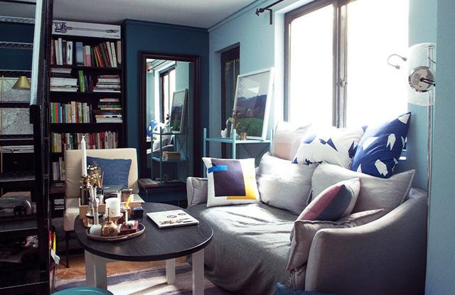 Không gian sống gói gọn lại trong ngôi nhà chưa đầy 30 m2 - Ảnh 1.