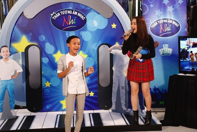 Khởi động Thần tượng âm nhạc nhí mùa 2, Hồ Văn Cường song ca cùng Hòa Minzy - Ảnh 48.