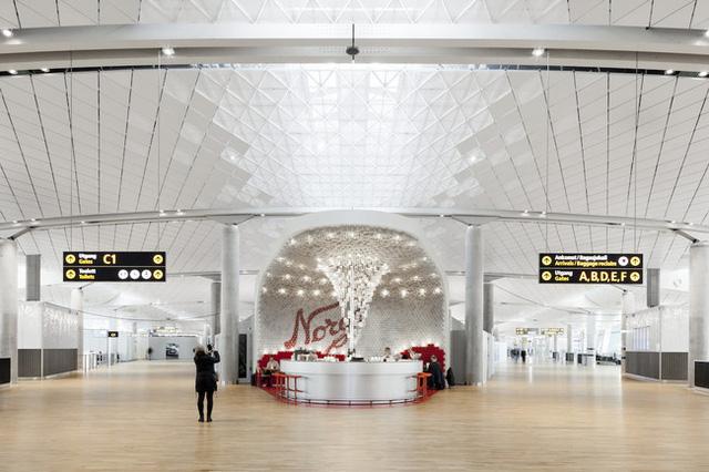 Thiết kế sân bay lấy cảm hứng từ những chiếc lọ thủy tinh - Ảnh 1.