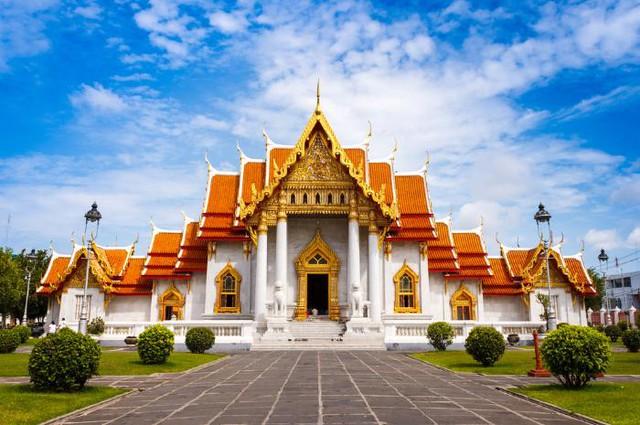 Chiêm ngưỡng những ngôi đền có kiến trúc ấn tượng trên thế giới - Ảnh 1.