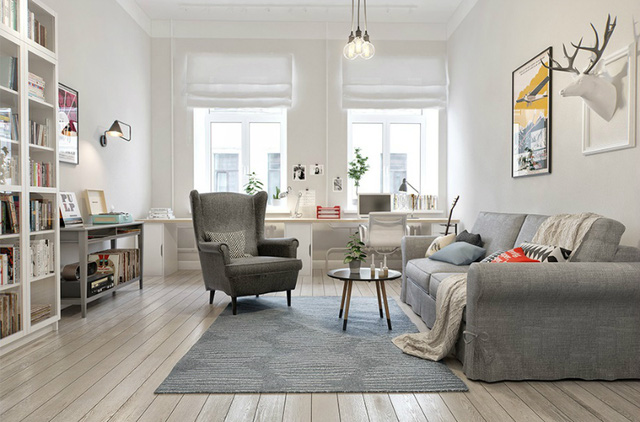 Ngôi nhà của bạn vẫn có thể nổi bật nhờ gam màu nhẹ nhàng, mộc mạc này - Ảnh 10.