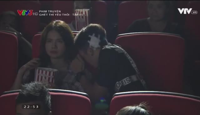 Ghét thì yêu thôi - Tập 11: Sau khi qua đêm, Du còn rủ Kim đi xem phim nữa cơ! - ảnh 7