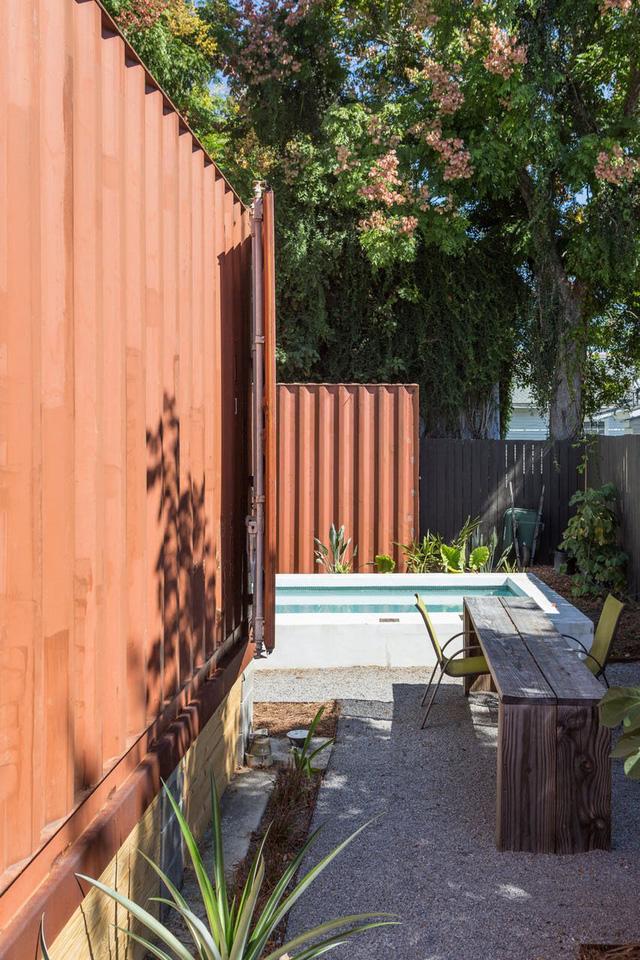 Ấn tượng nhà container có khoảng sân nhỏ - Ảnh 11.